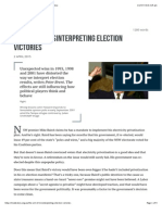 The Art of Misinterpreting Election Victories • Inside Story