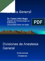 Anestesia General (Dr. Ortiz)