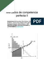 Competencia perfecta II