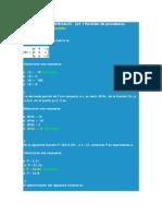 Evaluaciones Ecuaciones diferenciales