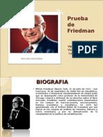 Prueba de Friedman