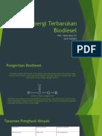 PPT Energi Terbarukan Biodiesel