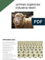 Materias Primas Orgánicas de La Industria Textil (1)