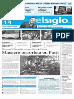 Edicion Impresa Elsiglo 14-11-2015