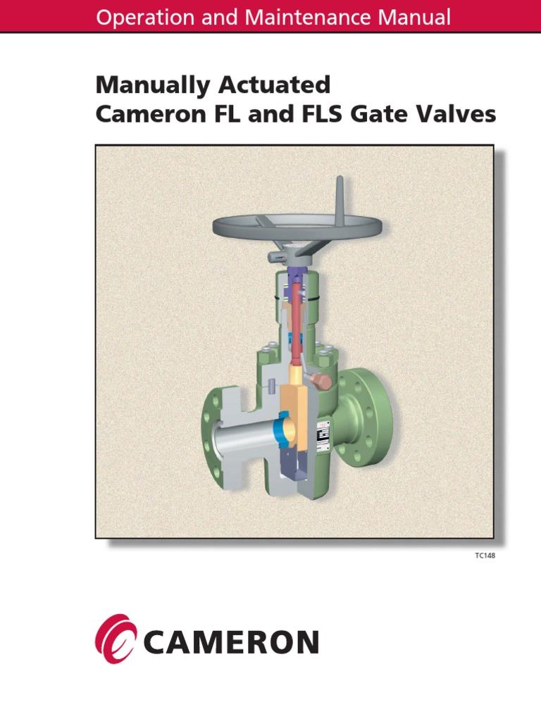Cameron Fls Gate Valves Valve Bearing Mechanical