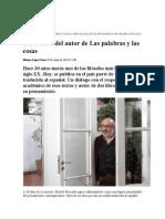 Entrevista a Edgardo Castro. Tiempo Argentino. 29 de Junio de 2014