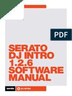 Serato DJ Intro 1.2.6 Software Manual - English