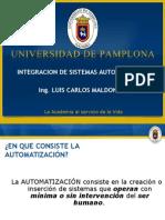 Automat. Ind. Prof. Luis C Maldonado