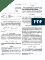 Minimal Solutions to Transfer Matrix Equations