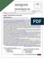Prueba Escrita Bimestral Fcc 1ero Sec Bim i 2015