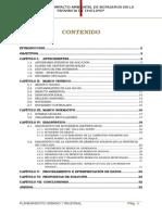 Estudio Impacto Ambiental - Avance de Medio Ciclo
