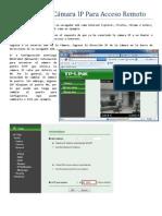 TP-LINK Configuración Cámara IP Para Acceso Remoto