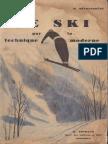 Le ski par la technique moderne