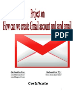 How to Create an Email Id and Send Email
