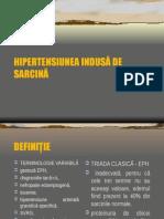 Hipertensiunea Indusa de Sarcina
