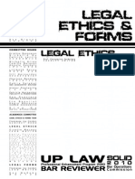 UP 2010 Legal Ethics