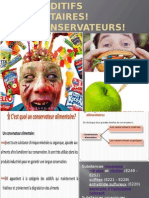 Les Additifs Alimentaires!