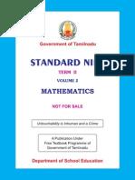 Std09 II Maths EM