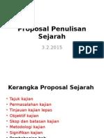 4.Proposal Penulisan Sejarah