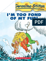 Geronimo Stilton 04- I'm Too Fond of My Fur!