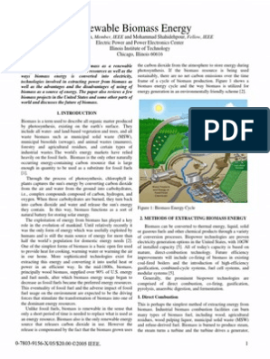 Biomass Energy | Biomass | Gasification
