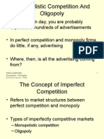 Lecture 10 Monopolistic Competition