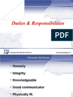 03 & 04 Duties of SWI and Quality