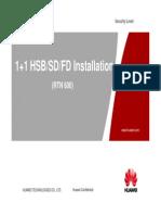 1+1_HSB-SD-FD_Installation
