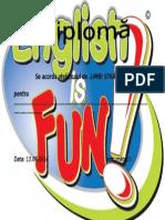 Diploma Engleza