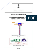 Maintenance Handbook on Earthing & Surge Protection for S&T Installations(1)