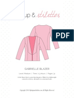 Gabrielle Blazer sewing pattern