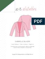 Gabrielle Blazer sewing pattern
