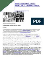 De Cómo Se Inundó de Droga El País Vasco y España en Los Años 80 y 90