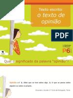 PP O Texto de Opinião