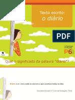 Texto Escrito_ o Diário