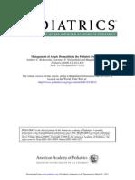 Management of Atopic Dermatitis in the Pediatric Population