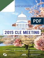 2015 Spring Symposia Brochure