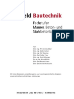HT3524 Lernfeld Bautechnik – Fachstufen Maurer, Beton- Und Stahlbetonbauer 2009