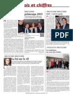 Conférence Sur Les Formalités Commerciales 23.01.2015 _ La Tribune 30.01.2015