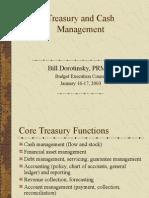 Treasury Cash Management