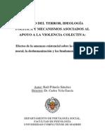 TESIS. Manejo Del Terror, Ideología Política y Apoyo a La Violencia