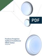 Buku Manual Pengisian Pendaftaran Online SMUP PPDS