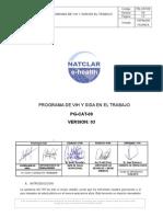 Pg-cat-09- Programa de Vih y Sida en El Trabajo Ver 03