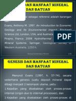 1 Genesis Dan Manfaat Mineral