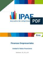 Unidad 6 Ses 12-13-14 Ratios Financieros