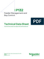 MiCOM P132_TechnicalDataSheet