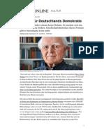 Hans Ulrich Wehler Streiter für Deutschlands Demokratie