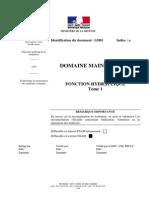 Fonction Hydraulique Tome1 Dtm