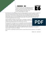 2015-11-14 - Verslag Overbos E10 - RKDES E6