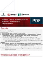 Avnet, Quaker IT presentation